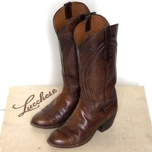 Lucchese cowgirl boots